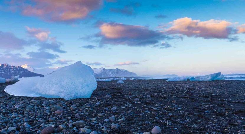 pequeño cambio climático podría iniciar pérdida hielo antártico fuera control
