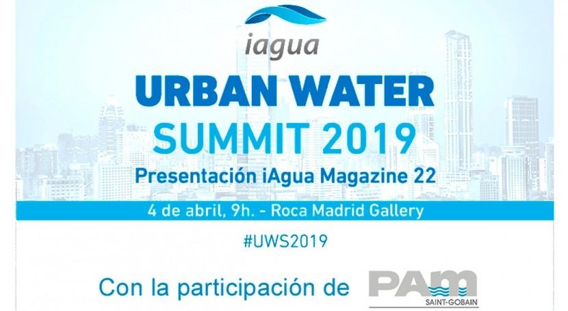 Saint-Gobain PAM participará Urban Water Summit 2019