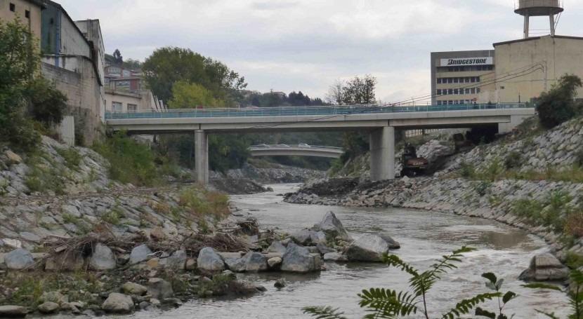 Hoy se abrirá paso puente Urbi, Basauri-Galdakao, obras realizadas