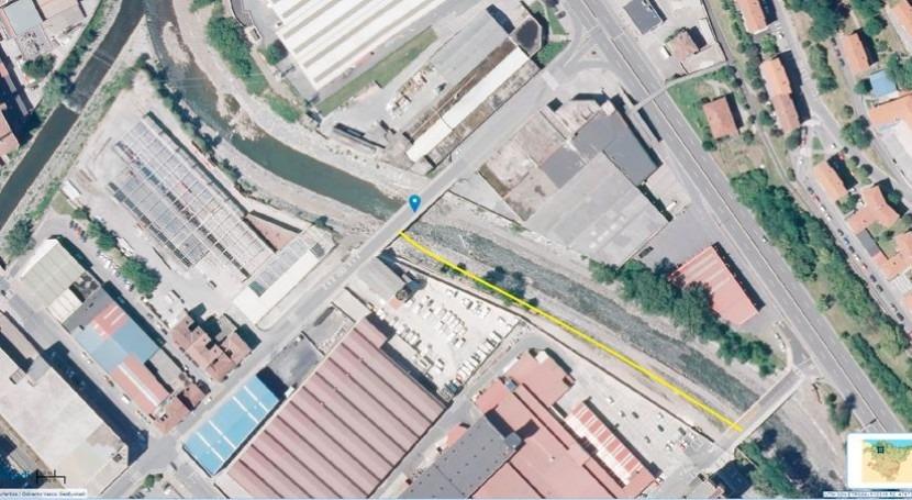 obras Urbi-Bengoetxe duplican capacidad desagüe y reducen riesgo inundaciones