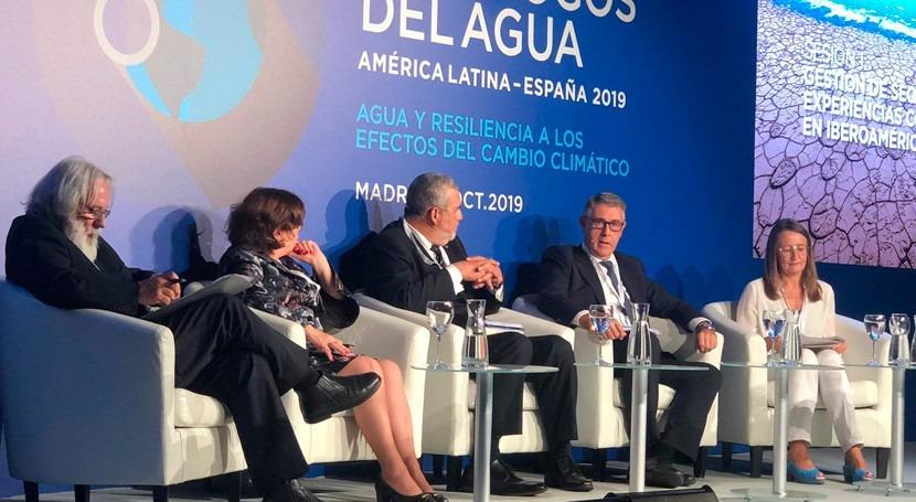 """Mario Urrea explica """"V Diálogos Agua"""" gestión sequías cuenca Segura"""