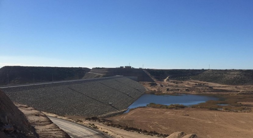 Arranca llenado embalse Valdepatao (Huesca), obra regulación Monegros II