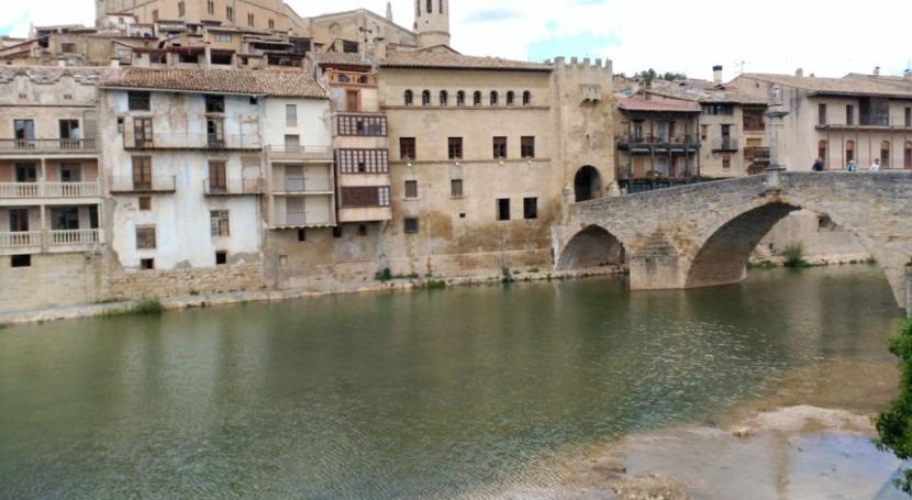 CHE finaliza limpieza azudes río Matarraña y afluentes, provincia Teruel