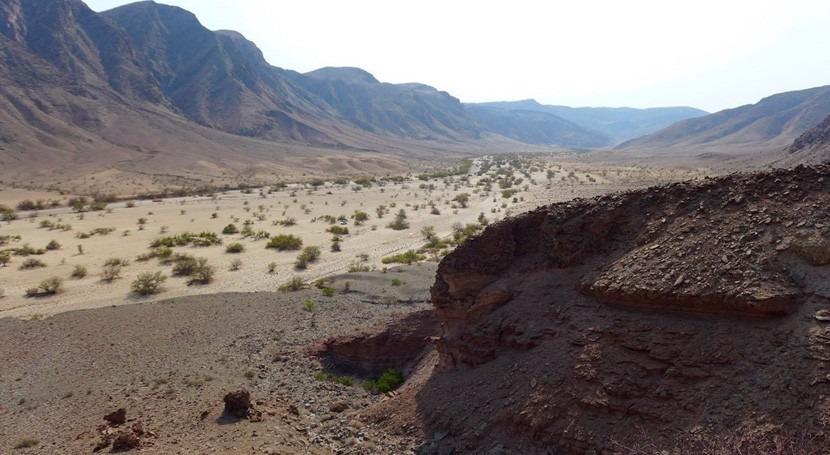 investigación, paisaje glaciar fósil podría discurrir interior Namibia