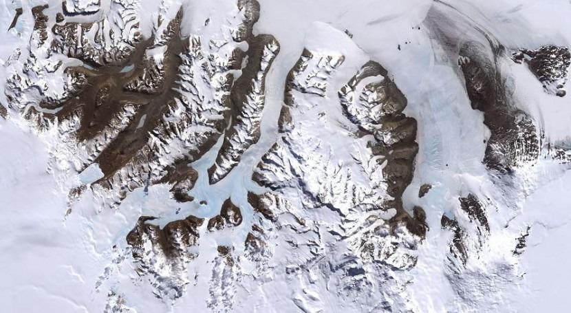 Imagen de los valles secos de Mc Murdo (wikipedia/CC)
