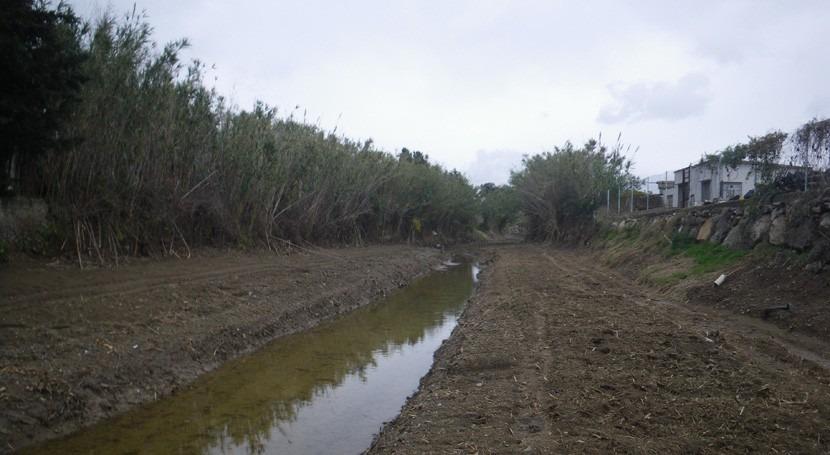 Garantizada circulación agua torrente Llançá limpieza cauce