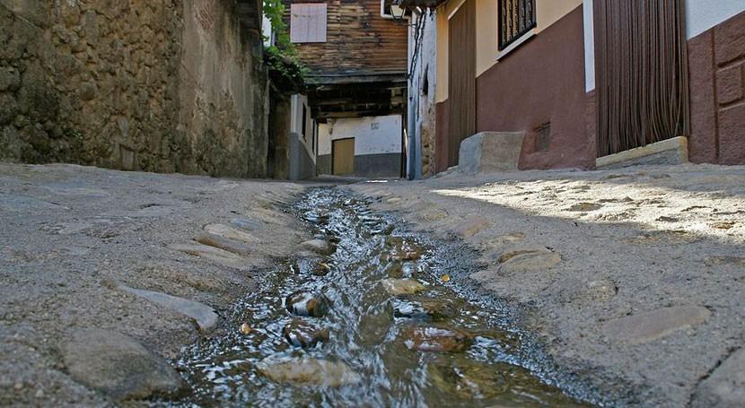 rotura balsa abastecimiento Valverde Vera provocó inundaciones ya controladas
