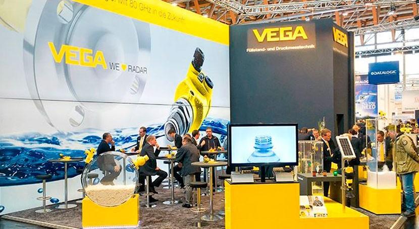 VEGA expondrá tecnología medición numerosos eventos 2017