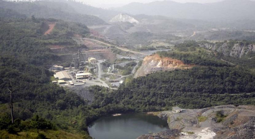 Localización de la mina en Ghana.