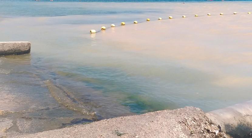 rotura tubería agua potable San Javier provoca vertido al Mar Menor