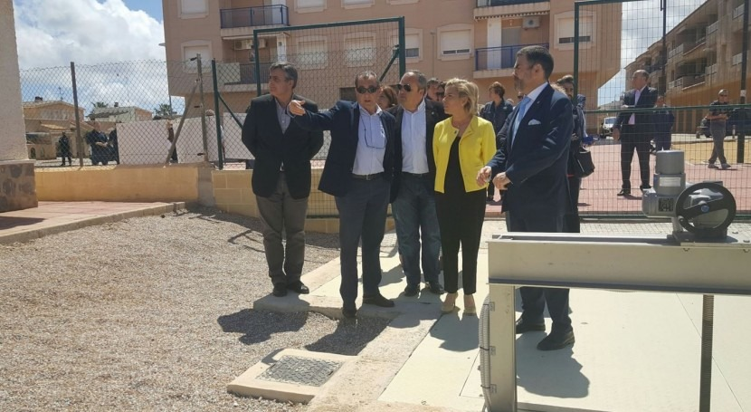 Avanza desarrollo Plan Vertidos 0 al Mar Menor