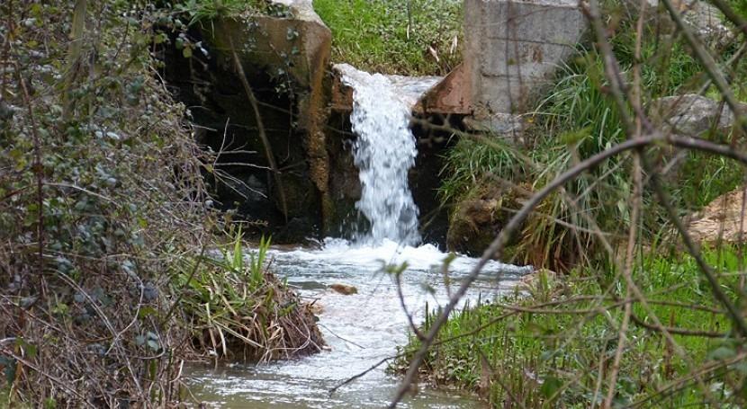 Vertido procededente de la explotación minera de El Valle-Boinás.