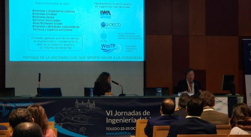 AEAS explica necesidades mejora innovación sector agua urbana
