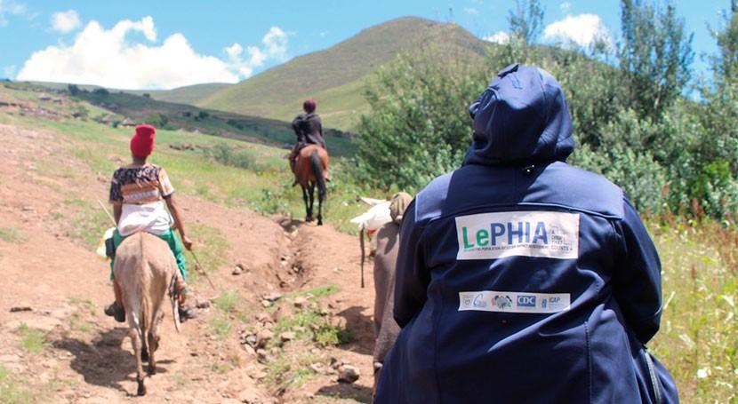 sequía Lesoto aumenta riesgo contraer VIH niñas