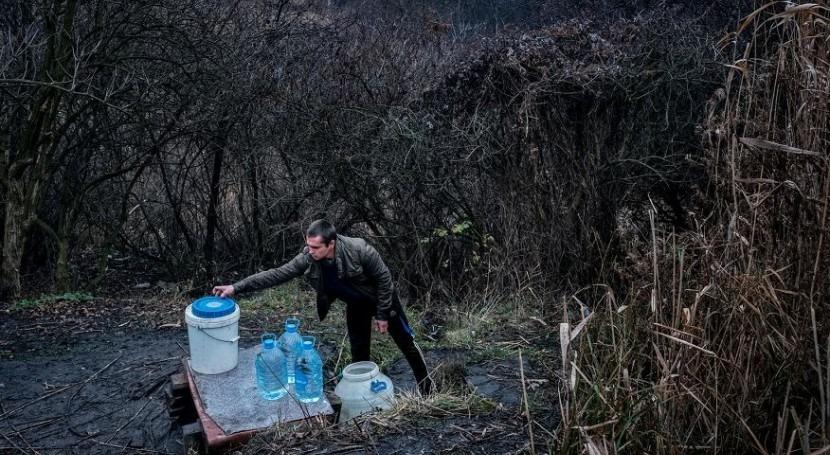 Millones personas podrían quedarse agua potable al aumento violencia Ucrania
