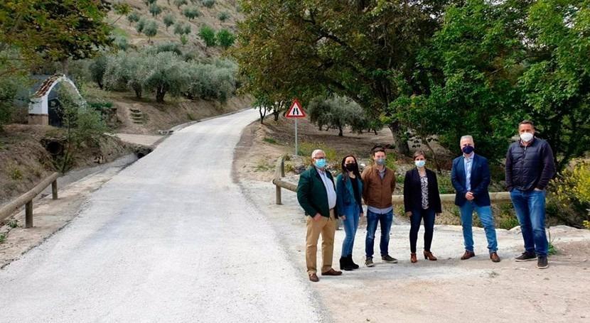 Andalucía impulsa Iruela depuración aguas y mejora caminos rurales
