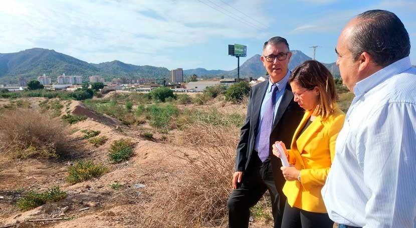 marcha obras mejora ramblas Cartagena mejorar capacidad hídrica