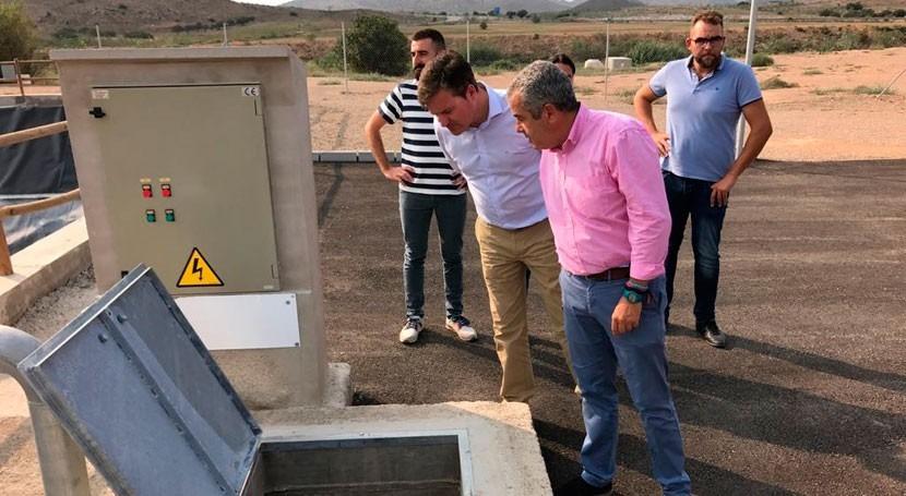 mejora EDAR Fuente Álamo permitirá reulización 550.000 m3 agua al año