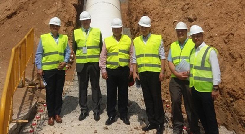 obras distribuidora Trinitat mejoran garantía agua caso sequía