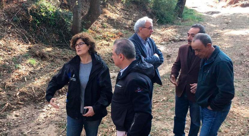 ACA emplea cerca 300.000 euros trabajos restauración Rubí inundaciones