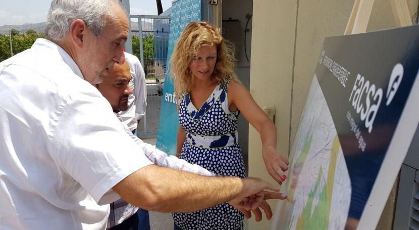 alcaldesa Castellón visita pozos abastecimiento agua