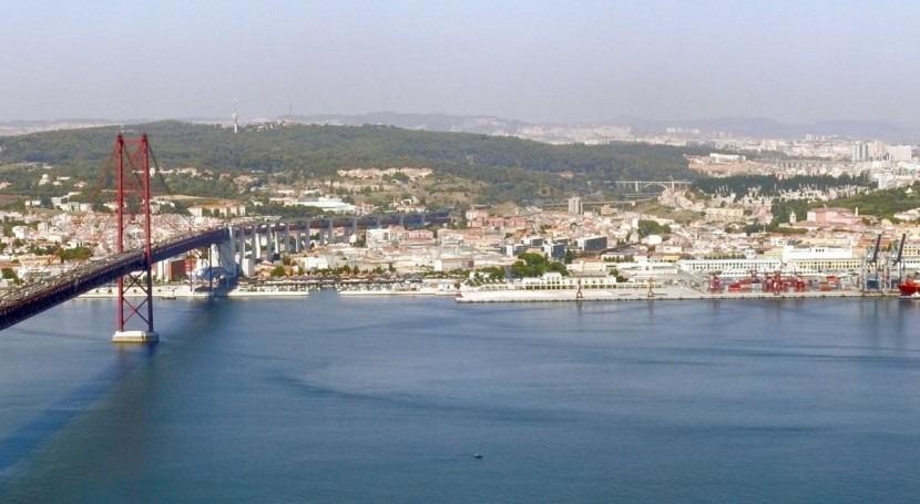 Vista aérea de Lisboa (Wikipedia/CC)