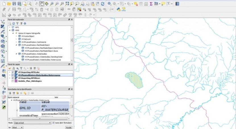 Novedad Geoportal SITEbro: Publicación servicios estándar basados Directiva Inspire