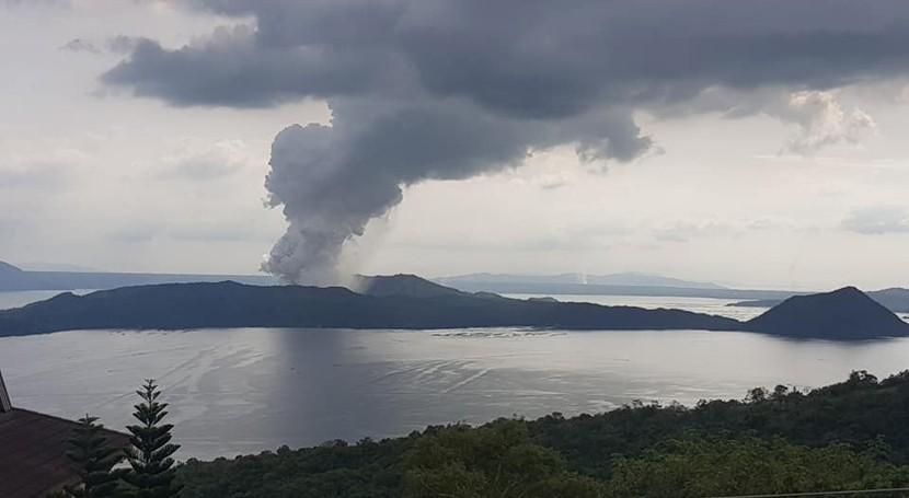 volcán filipino podría desatar evento Niño próximo invierno