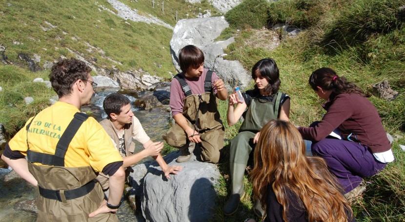 Celebramos 15 años trabajando voluntariado ríos Parques Nacionales