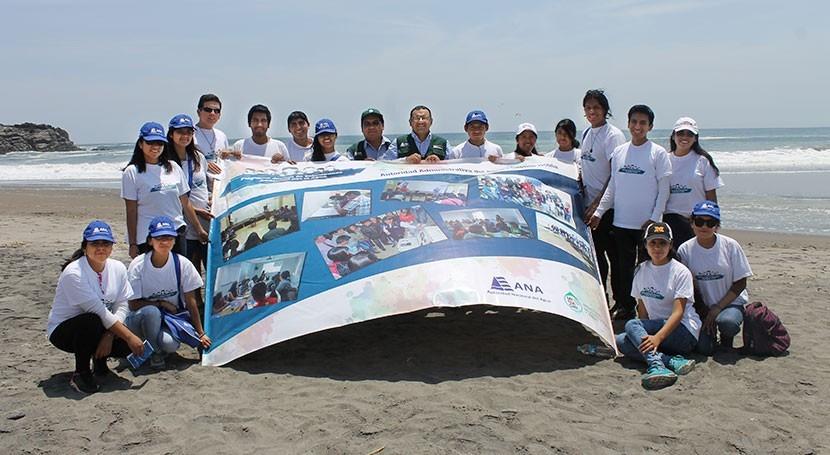 Más mil jóvenes peruanos postulan convertirse 'voluntarios agua'