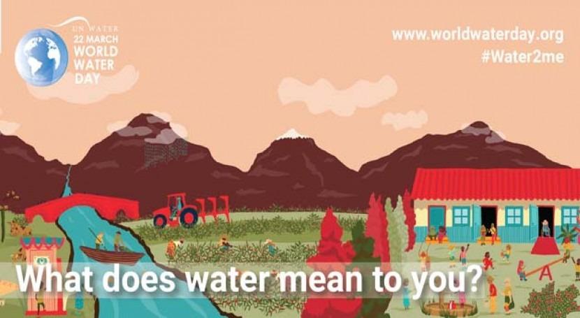 #Water2me: agua, todo diferentes caras