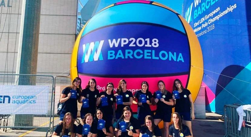 We Are Water conciencia importancia agua Campeonato Europeo Waterpolo 2018