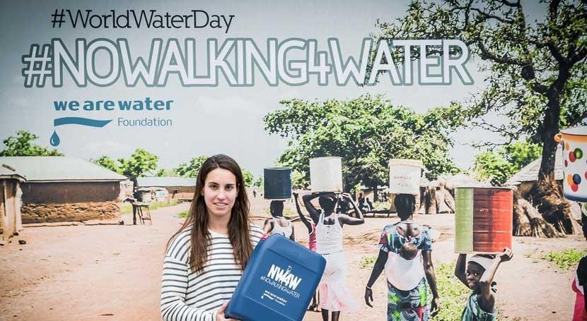 We Are Water se une Waterpolo Barcelona concienciar falta recursos hídricos