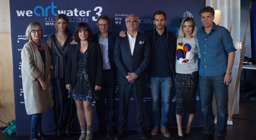 Comienza tercera edición We Art Water Film Festival presentación jurado