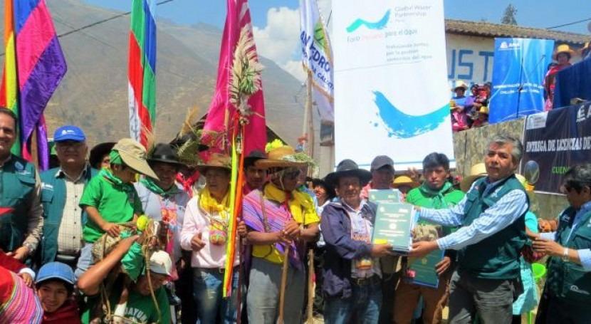 Autoridad Nacional Agua beneficia más 30 mil usuarios agua poblacional y riego
