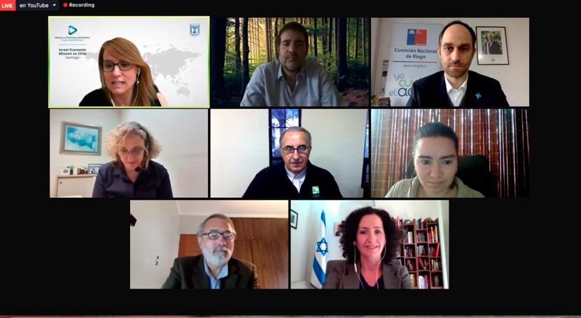 CNR destaca capacidad desalinizadora Israel webinar reúso agricultura