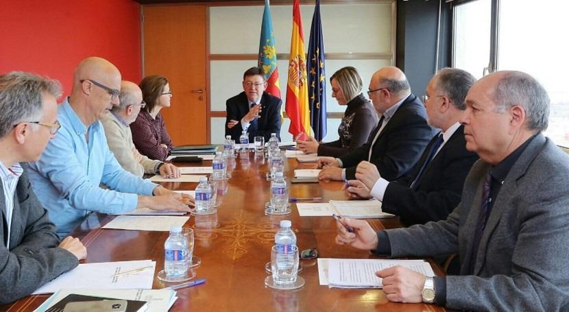 "Ximo Puig: "" Consell va defender final cumplimiento trasvase Tajo-Segura"""