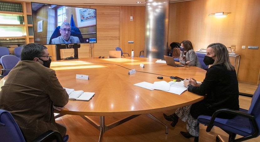 Galicia pide al Gobierno simplificar trámites autorizar obras saneamiento rías