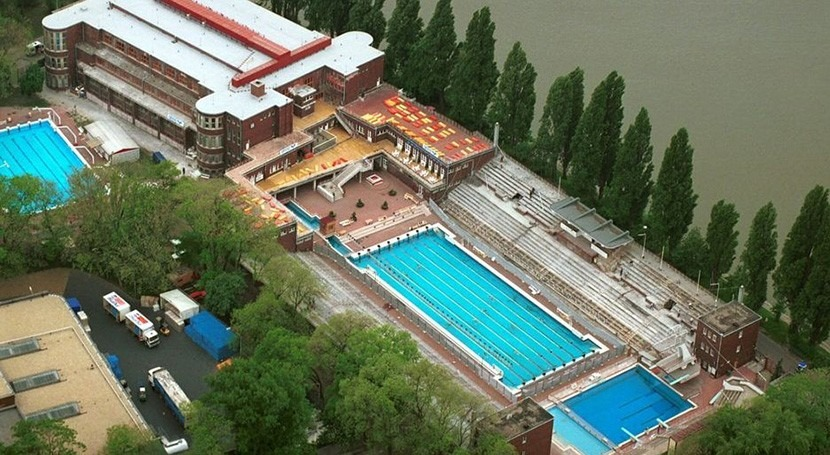 Xylem suministra al complejo natación Budapest solución bombeo