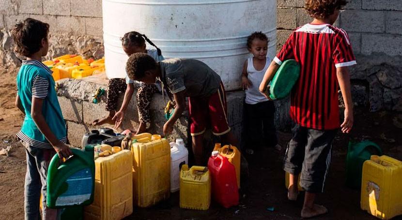 cólera se suma al hambre extremo 14 millones personas Yemen