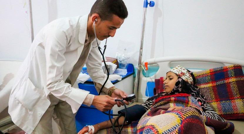 Asciende 100.000 número casos probables cólera Yemen
