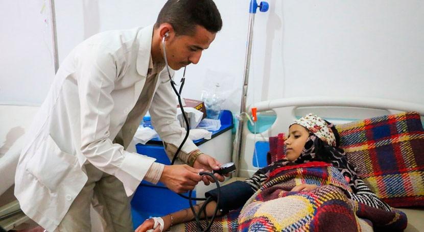 cólera y malnutrición amenazan vida niños Yemen, Sudán y Somalia