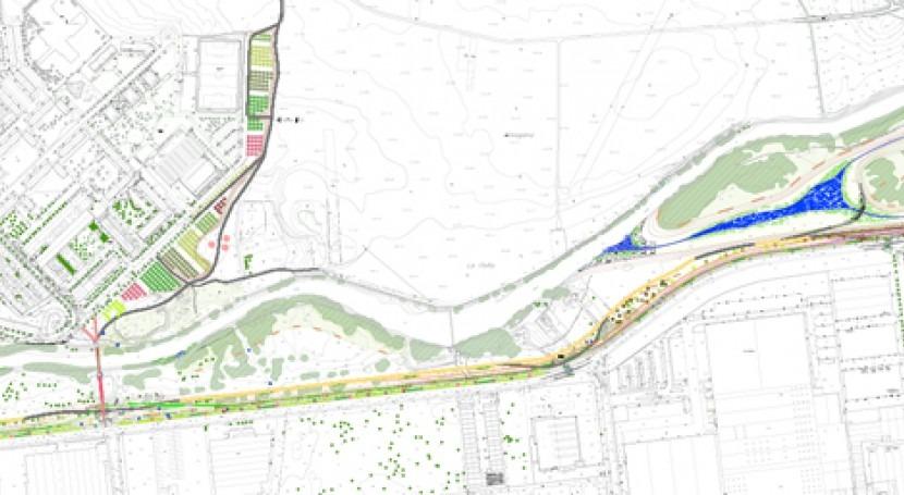 URA abre licitación fase II obras defensa inundaciones río Zadorra
