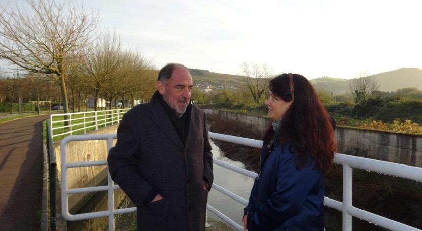 URA iniciará enero obras defensa inundaciones y recuperación ambiental Zarautz