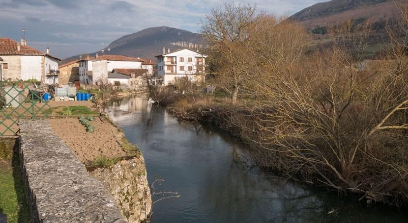 CHE retoma trabajos recuperación capacidad desagüe ríos Araquil y Zidacos