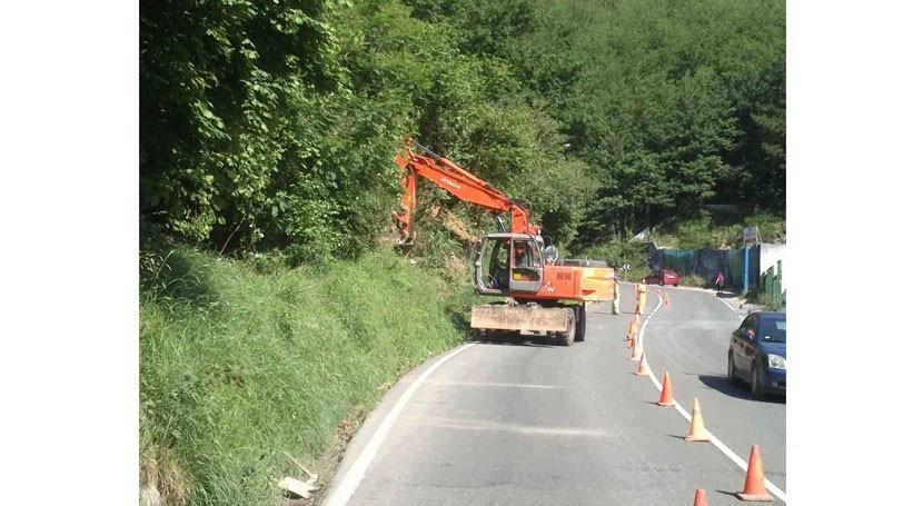URA inicia construcción nuevo tramo colector Ermua