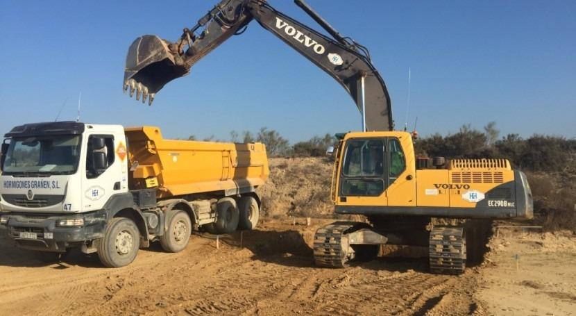 MAGRAMA inicia obras construcción balsas Salillas y Huerto (Huesca)