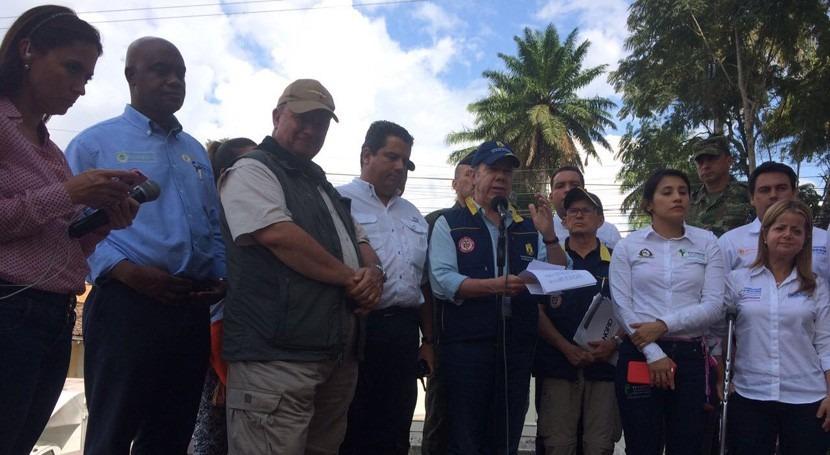 reconstrucción Mocoa pasa estudio zonificación preliminar áreas inundadas